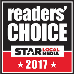 Winner Readers' Choice Award 2017