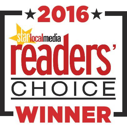 Winner Readers' Choice Award 2016